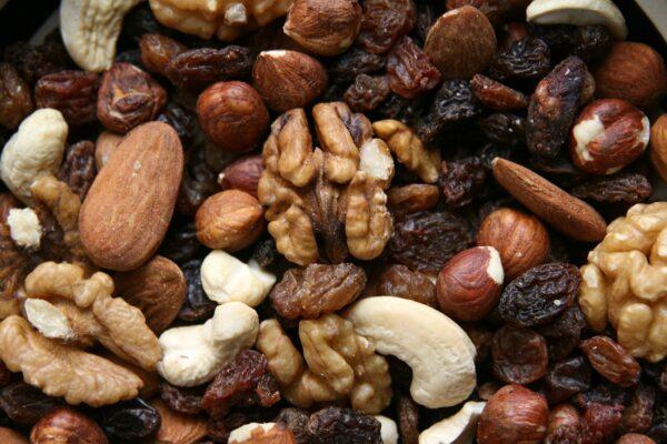 nuts, food, trail mix